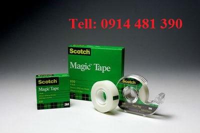 Băng keo 3m scotch Magic tape 810