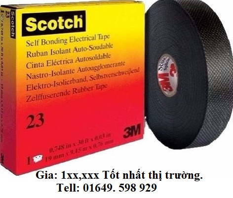 băng keo điện 3M scotch 23