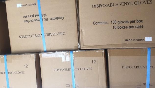 Găng tay PVC 12 inch
