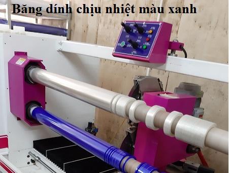 Chuyên cung cấp các loại băng dính chịu nhiệt màu xanh