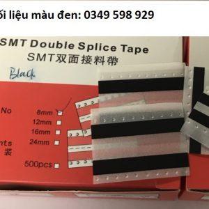 Băng dính nối liệu SMT màu đen 8mm