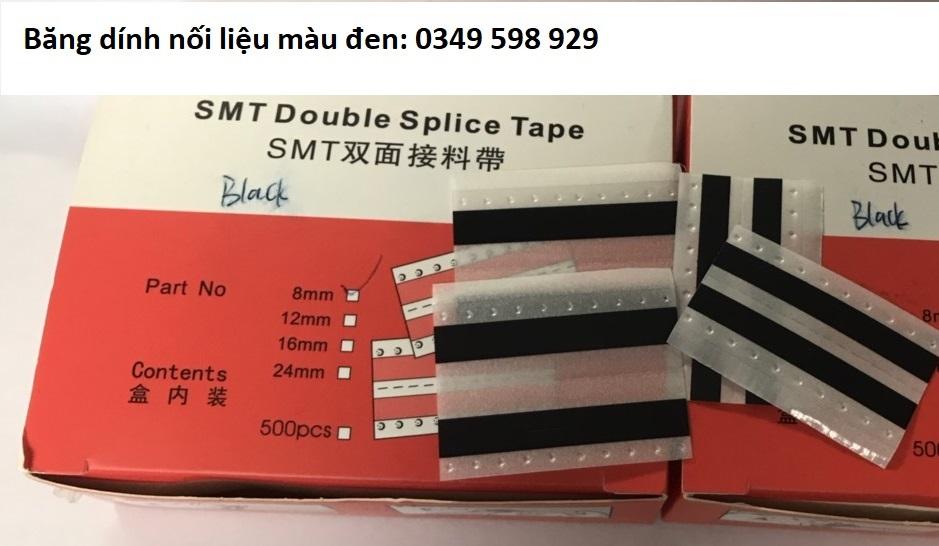 Băng dính nối liệu SMT màu đen