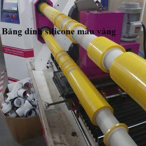 Băng dính silicone màu vàng