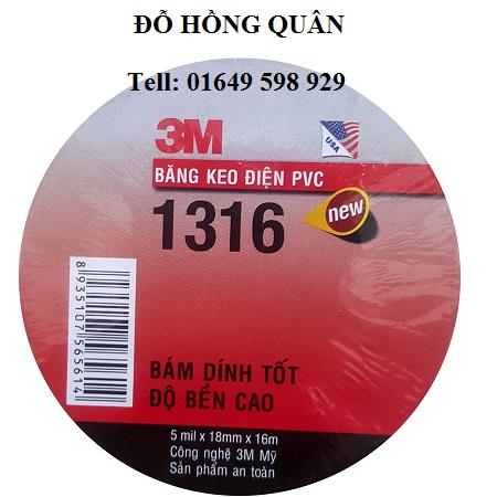 Băng keo 3M PVC 1316