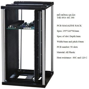 Giá để bảng mạch PCB magazine rack MGL-002